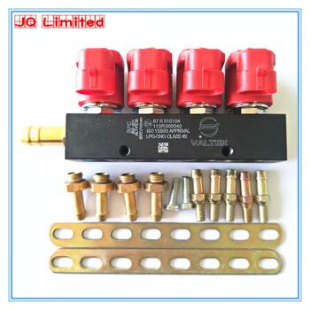 CNG cichy wysokiej prędkości CNG LPG szyna wtryskiwacza 3 ohm dla 4cylinder do sekwencyjnego wtrysku wspólne szyna wtryskiwacza i akcesoria tanie i dobre opinie JUNQIAT 0 65 China