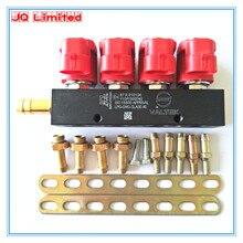 Бесшумной высокоскоростной CNG СУГ инжекторов 3 ом для 4cylinder последовательного впрыска Системы Common Rail и аксессуары