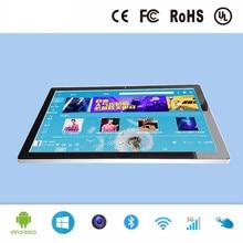 27 дюймов промышленные Сенсорный экран все в одном ПК планшетный компьютер ПК