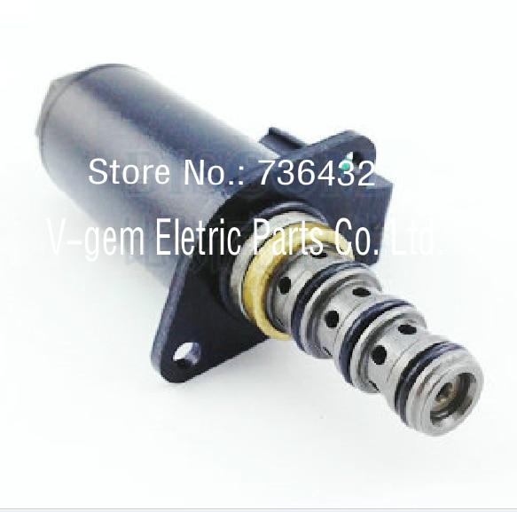 Drop! Excavator solenoid valve,solenoid proportional pressure reducing valve YB35V00005F1 for Kobelco SK200-6E SK230-6E SK200-8 цена и фото