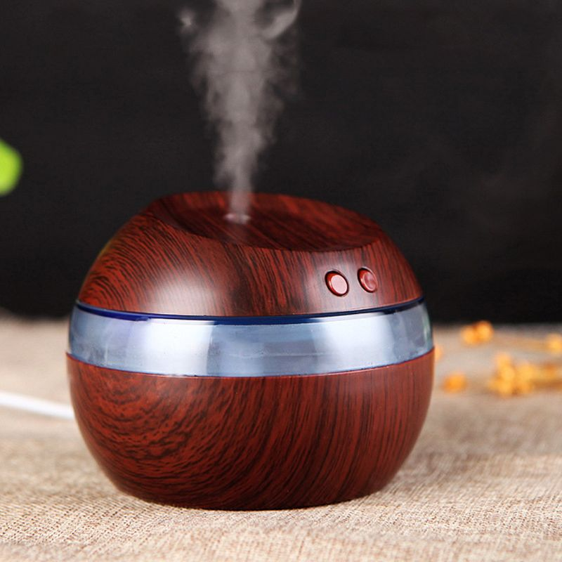 300ml Air Aroma Humidifier Essential Oil Diffuser Aromatherapy Night Light Ultrasonic Classic Mist Maker For Home Use