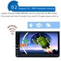 3 Г Четырехъядерный процессор 2 din Android 5.1 2din Новый Универсальный Автомобиль Радио двойной Dvd-плеер Автомобиля Gps-навигация В тире ПК Автомобиля Стерео Видео