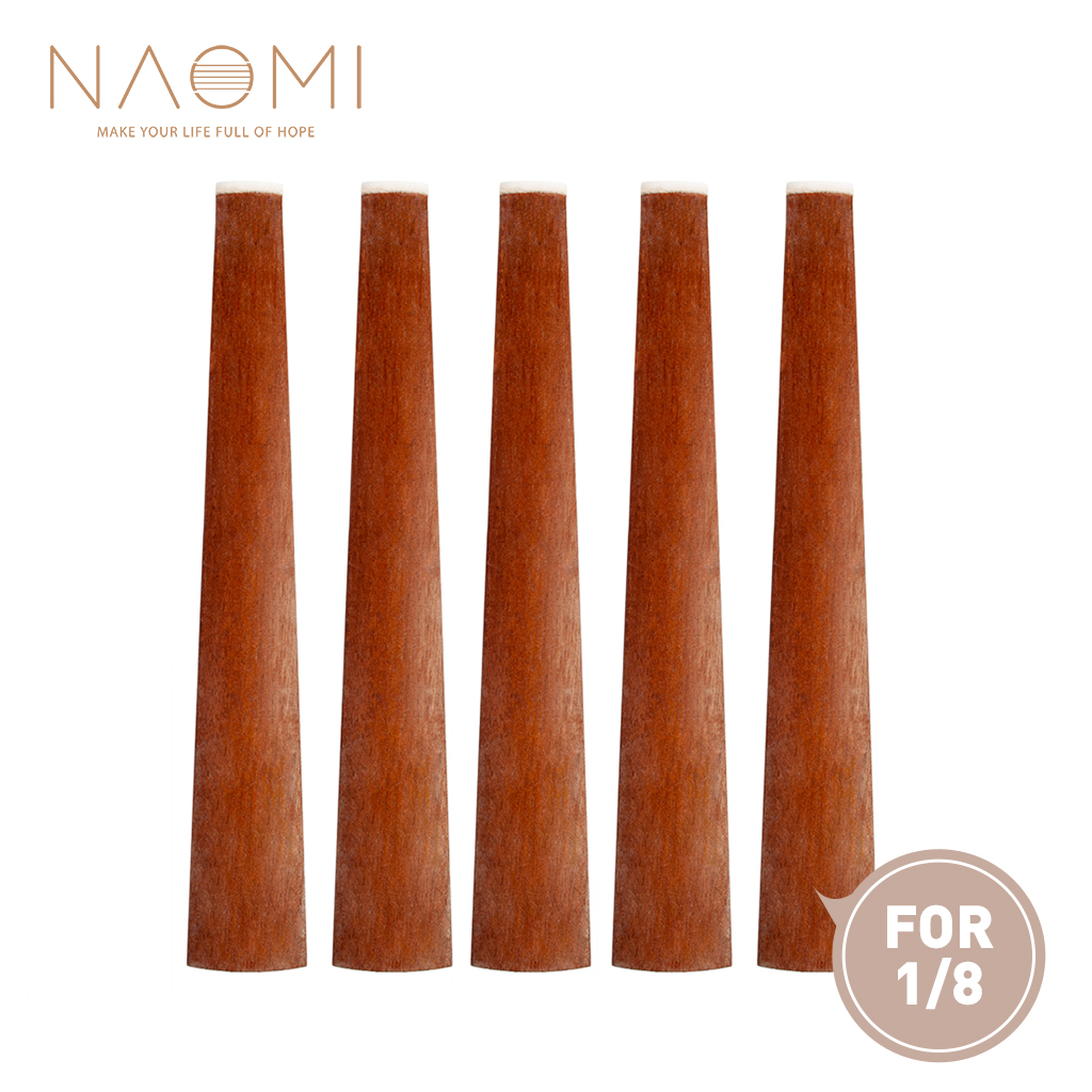 Sports & Entertainment Straightforward Naomi 5 Pcs Rosewood Violin Fingerboard For 1/8 Acoustic Violin Fiddle Fingerboard W/ Nut Violin Parts Accessories New Delaying Senility Stringed Instruments