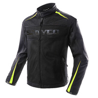 SCOYCO мотоциклетная куртка Водонепроницаемый Лето Для мужчин Костюмы Защитная куртка Мотокросс протектор с Локоть плечо назад протектор
