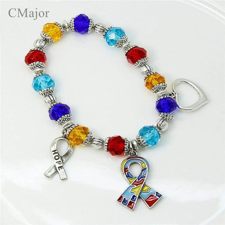 Cmajor Diy Bracelets For Autism Awareness Hope Symbol Jigsaw Puzzle