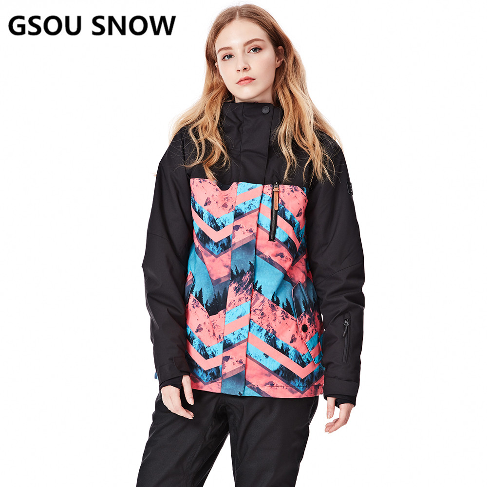 489eda8c8 GSON SNOW Brand Winter Ski Jacket Women Waterproof Windproof ...