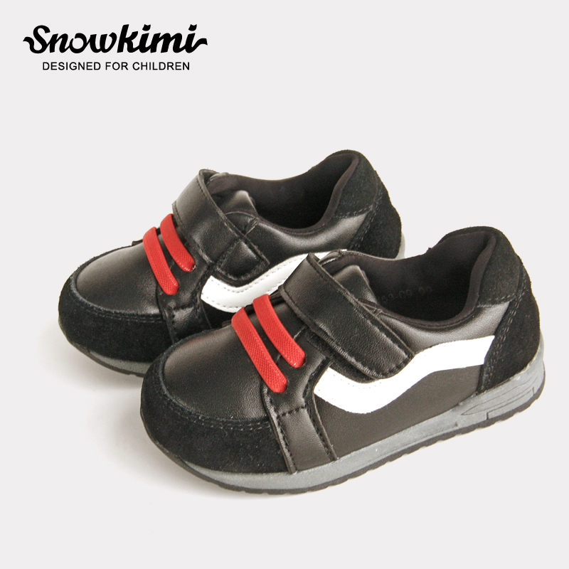 2018 Autumn New Infant Sports Shoes Of Children 1-3 Years Baby Boy Toddler Soft Bottom Hook & Loop Genuine Leather Freeshipping 2018 winter plus cotton girls princess shoes genuine leather soft bottom for children 0 1 years old female baby toddler shoes
