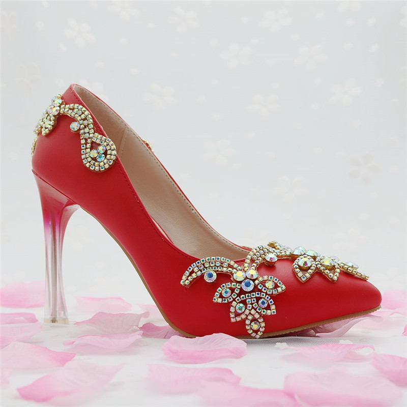 Dream Wedding Shoes Beautiful Bride High Heel Handmade Shine ...