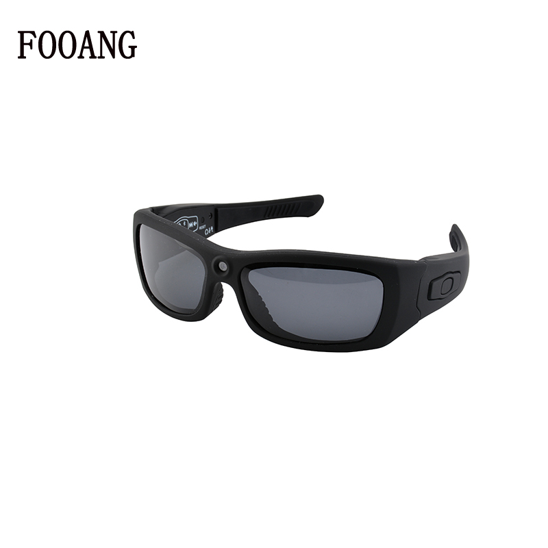 FOOANG HD 1080P camera glasses DV MP3 sunglasses Bluetooth headphones micphone Driving recorder polarized lens mini camcorders new polarized driving sunglasses glasses mirror night and day dimming night vision glasses