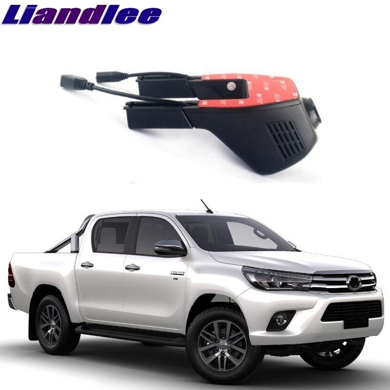 все цены на Liandlee For Toyota Hilux AN10 AN20 AN30 N140 N150 N160 N170 1997~2018 Car Black Box WiFi DVR Dash Camera Driving Video Recorder онлайн