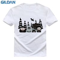 GILDAN Game Of Thrones DIY T Shirt Men Pure Cotton Round Collar Short Sleeves T Shirt
