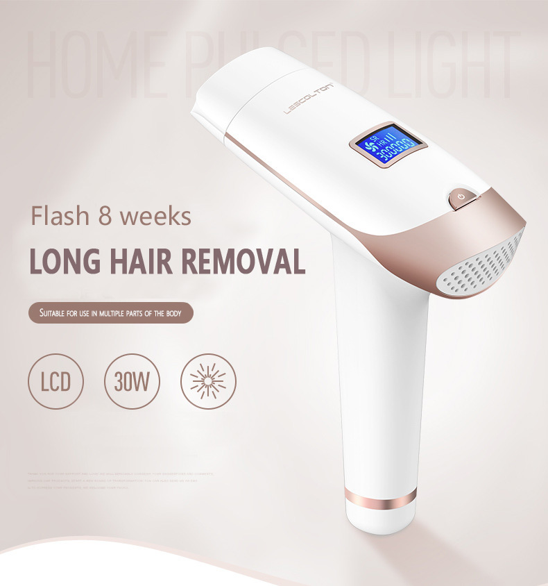 LESCOLTON 2in1 IPL 700000Laser Epilator Hair Removal LCD Display Machine Laser Permanent Bikini Trimmer Electric depilador