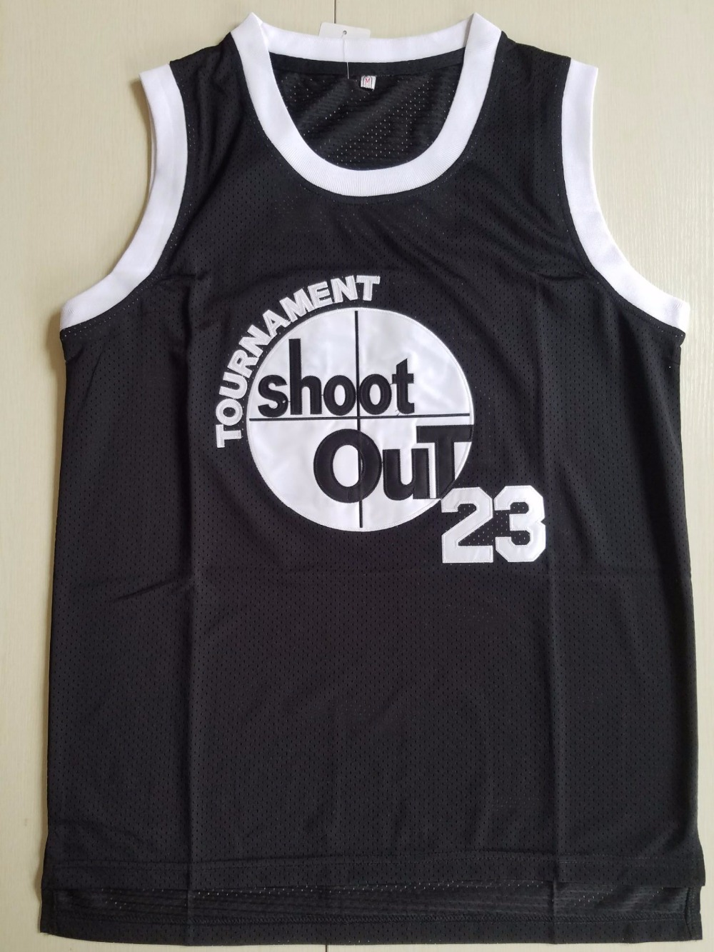 Above The Rim 23 Motaw Tournament Shoot Out Basketball Jersey Black All stitched