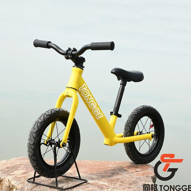 12 дюймов детский баланс велосипед железная рама алюминиевая рама Алюминиевый обод детский велосипед