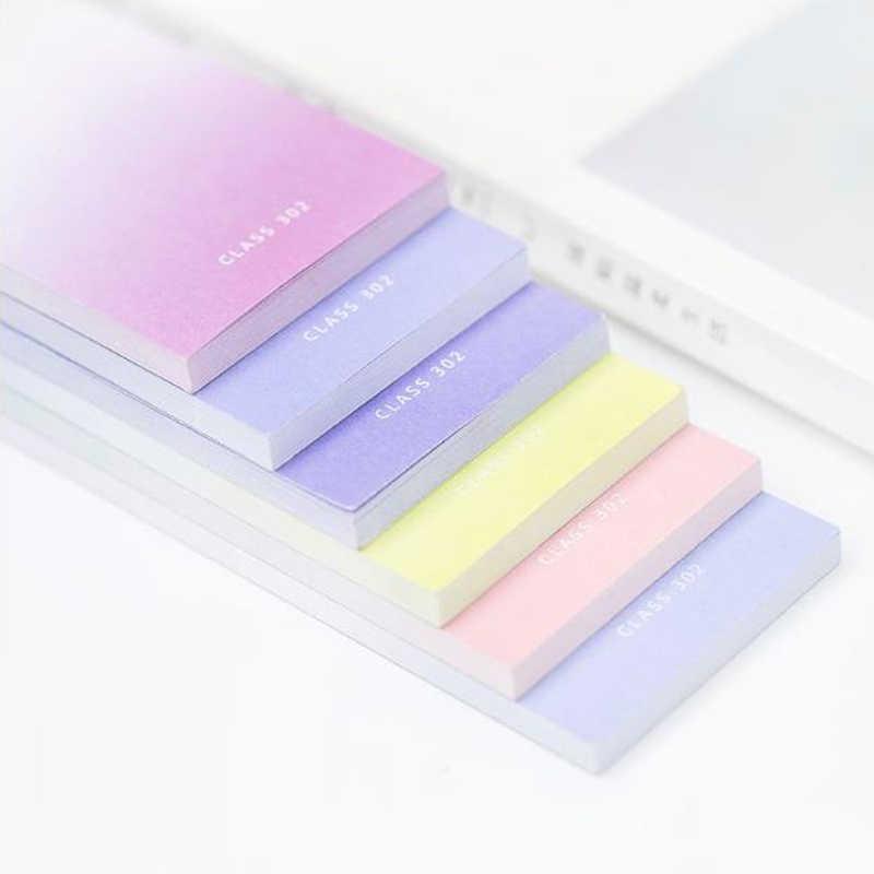 4 набора радужных блокнотов для заметок из Северной Европы, блокнот для заметок, школьные канцелярские принадлежности, канцелярские принадлежности для студентов