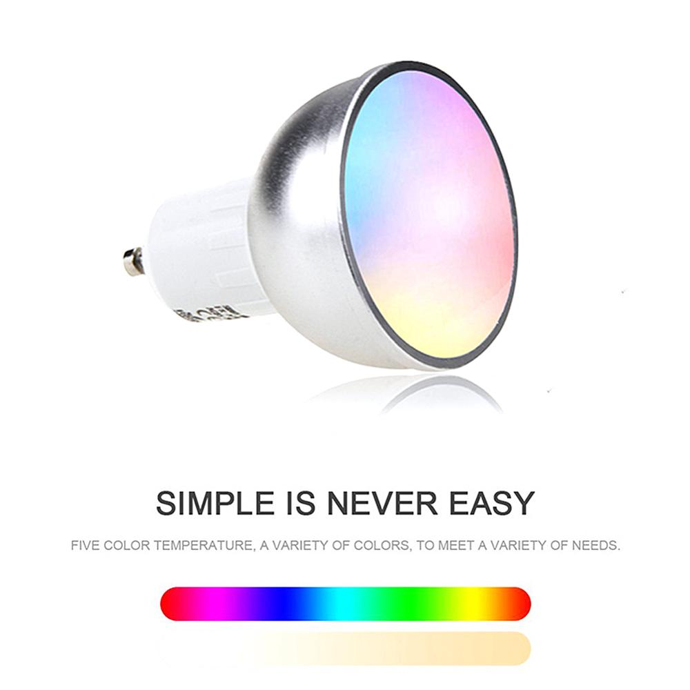 Color Changing RGB Bulbs Remote Wifi Control Smart RGB Magic Light Bulb Lamp Remore Control Atmosphere Lighting Decorative Light