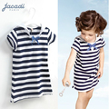 Girl dress,Brand,new 2015,children clothing,summer clothes ,3-7year kids clothes,girls clothes,navy striped dress