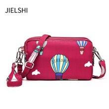 New Fashion Mini Cartoon Printing Wallets Clutches Lady High-density Waterproof Fabric Shoulder Bag Women Daily Crossbody Bag