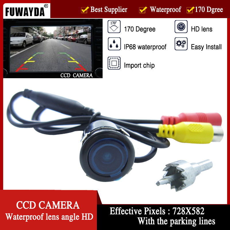FUWAYDA Car Rear View Reverse Parking Safety Assistance Drive Camera Universal