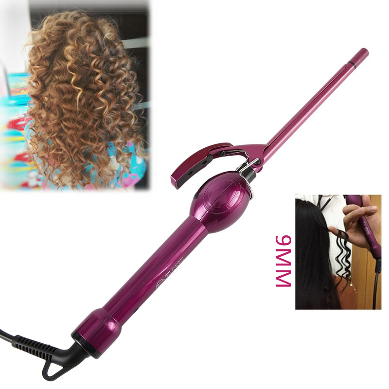 LCD display curling iron hair curler professional hair curl irons curling wand roller styling tools Dry/Wet rizador de pelo professional electric hair straightener plat iron anion steaming dry wet use hair straightner curler styling tool