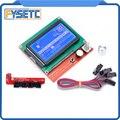 12864 LCD Ramps Smart Onderdelen RAMPS 1.4 Controller Bedieningspaneel LCD 12864 Monitor Blauw Scherm Module Voor Anet A6