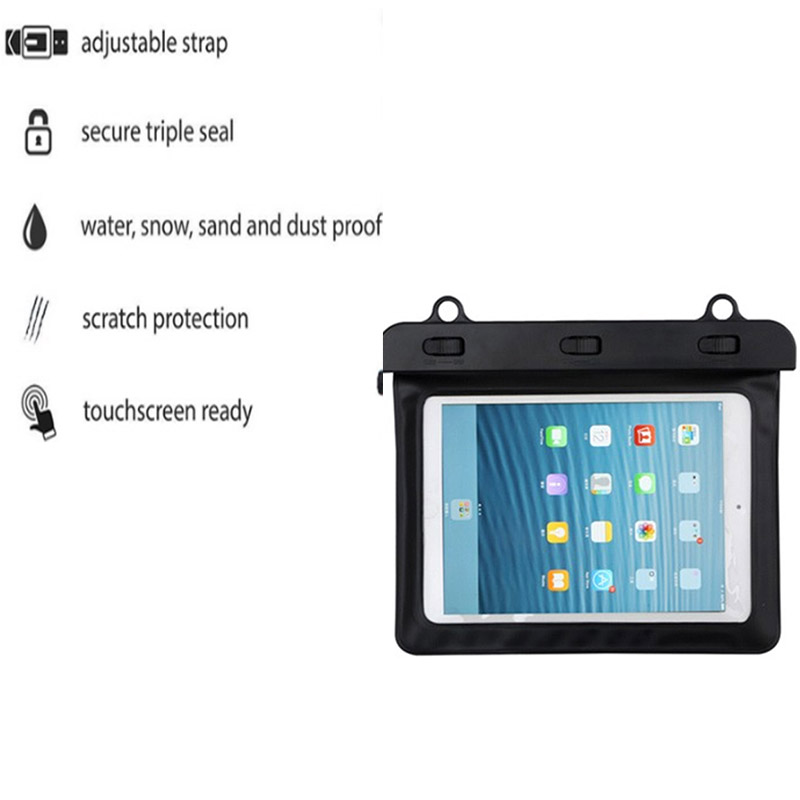 ULIFART Tablet Waterproof Pouch Bag Case Cover Dustproof For Kindle 7inch iPad Samsung Galaxy Tab Storage Bag Drop Shipping