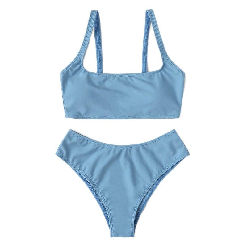 Cheeky High Waist Bikini Set 16