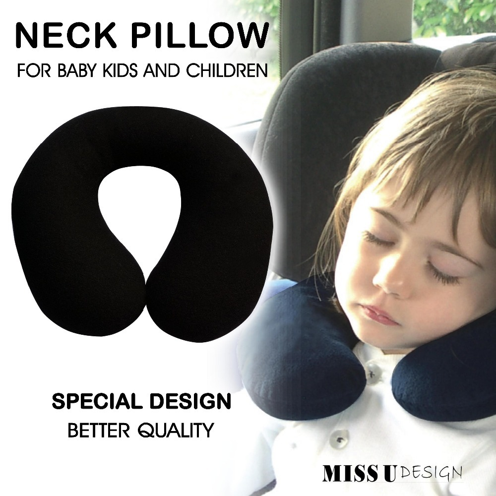 aliexpresscom buy neck pillow cushion protector for baby kid children sleeping headrest car seat cover interior accessories free shipping from reliable