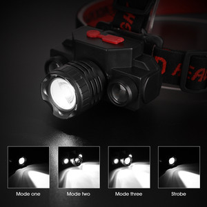 Image 5 - USB مصباح COB قابل للشحن LED كشافات المصباح 90 درجة دوارة رئيس مصباح الشعلة مصباح يدوي مقاوم للماء الصيد والمشي لمسافات طويلة