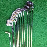 Новый дизайн китайского искусства титановый Золотой Полный Гольф клуб набор