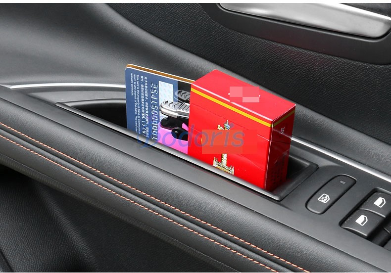 Car Organizer Door Armrest Storage Box Console Container Holder Tray Car Styling 2017 2018 For Peugeot 5008 3008 GT Accessories in Chromium Styling from Automobiles Motorcycles