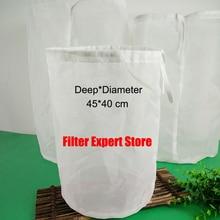 45*40 см 5 галлонов тонкой пищевая сетка, мешок нейлон самогон заторный фильтр мешок для пакетной homebrew фильтр мешок ведро может быть customerized