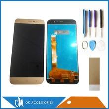 Получить скидку Для Hisense Бесконечность Lite S L675 ЖК-дисплей Экран Дисплей + Сенсорный экран планшета Высокое качество золото Цвет с Инструменты Клейкие ленты 1 PC /лот