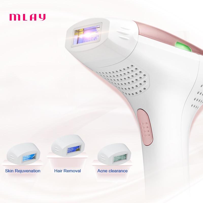 3 em 1 depiladora 300000 pulsos ipl laser maquina de depilacao a laser permanente biquini trimmer