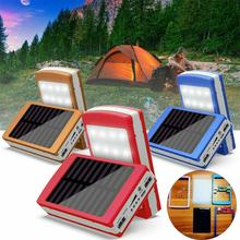 Dual USB LED Light 5-Cell 18650 Battery Charger Box Solar Power Bank DIY Case Kit hot