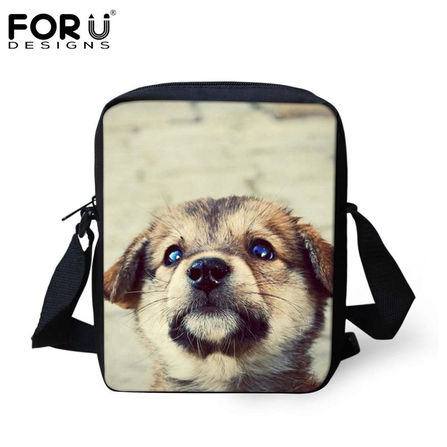 FORUDESIGNS/женская маленькая сумка через плечо с объемным рисунком собаки чихуахуа, модные женские сумки-мессенджеры, сумки через плечо - Цвет: H858E