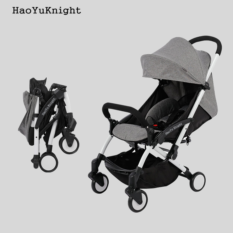 HaoYuKnight Carrinho De Bebe Lightweight Stroller Quick Folding Stroller Aluminum Alloy Baby strollersHaoYuKnight Carrinho De Bebe Lightweight Stroller Quick Folding Stroller Aluminum Alloy Baby strollers