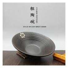 RSCHEF 1 шт. черная большая миска для рисовой лапши, миска для японской лапши, миска для супа