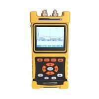 Premium Handheld Optical Power Meter OTDR Fiber Tester Visual Fault Locator with VFL Touch Screen 28/26dB 1310nm/1550nm