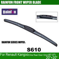 RAINFUN S610 20 20 Dedicated Car Wiper Blade For Renault Kangoo One Rear Door Only 97