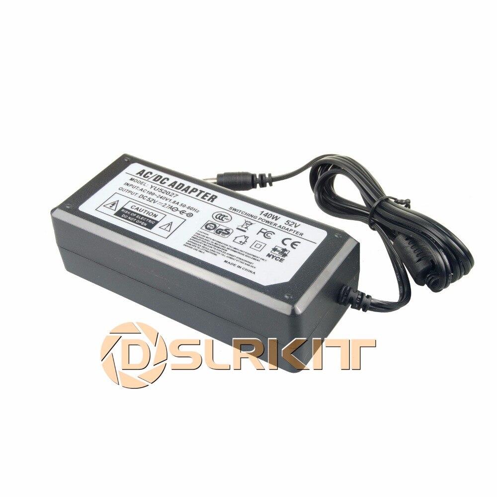 52 V 2.7A 140 Watt AC à DC Adaptateur D'alimentation 100-240 V pour Commutateur PoE Injecteur