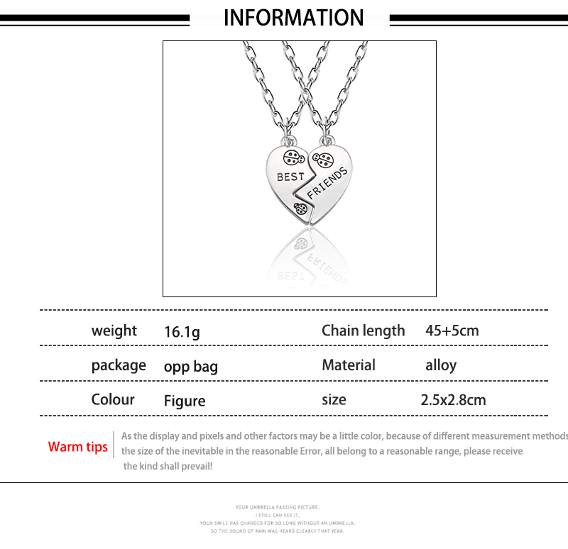 HTB1KevOXjnuK1RkSmFPq6AuzFXac - Best Friend Necklace Women Crystal Heart Tai Chi Crown Best Friends Forever Necklaces Pendants Friendship BFF Jewelry Collier
