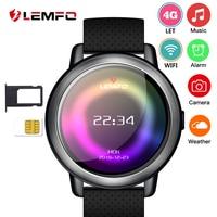 LEMFO LEM8 4G Smart Watch Android 7.1.1 2GB + 16GB Watch Phone With SIM GPS 2MP Camera Waterproof 580mAh Battery Smartwatch