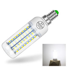 LED Lamp Full E27 24 36 48 56 69 72 pcs SMD 5730 Corn Bulb E14 Led 220v Spot Chandelier Candle Light Bulbs Lighting for Home(China)