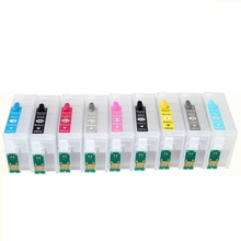 9color R3000 Empty Refillable Cartridge Free Shipping