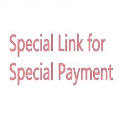 Enlace para clientes especiales que compren nuestros encantos de zapatos y otros estilos