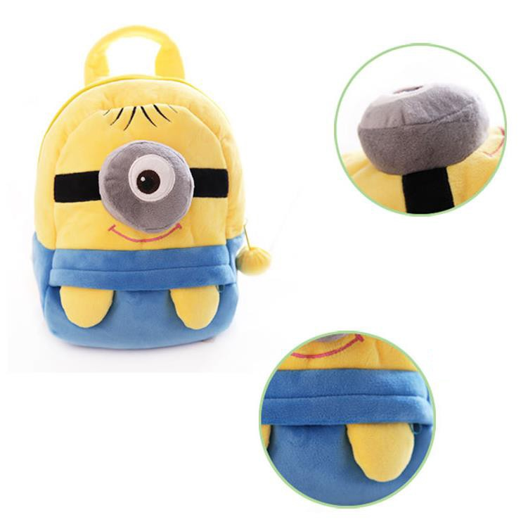 Super Cute Minion Bag For Toddlers