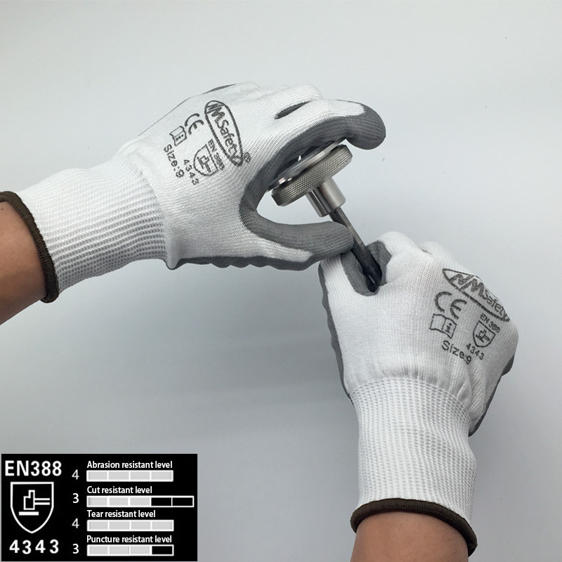 NMSafety Cut Resistant Gloves Level 3 Protection EN388 Certified Safety Gloves for Hand Protection Glove нивелир ada phantom 2d set