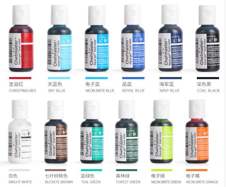 OPHIR 0.75OZ America Jedlý krém na pečení Pigment Jedlý pigment - Příslušenství elektrického nářadí - Fotografie 3