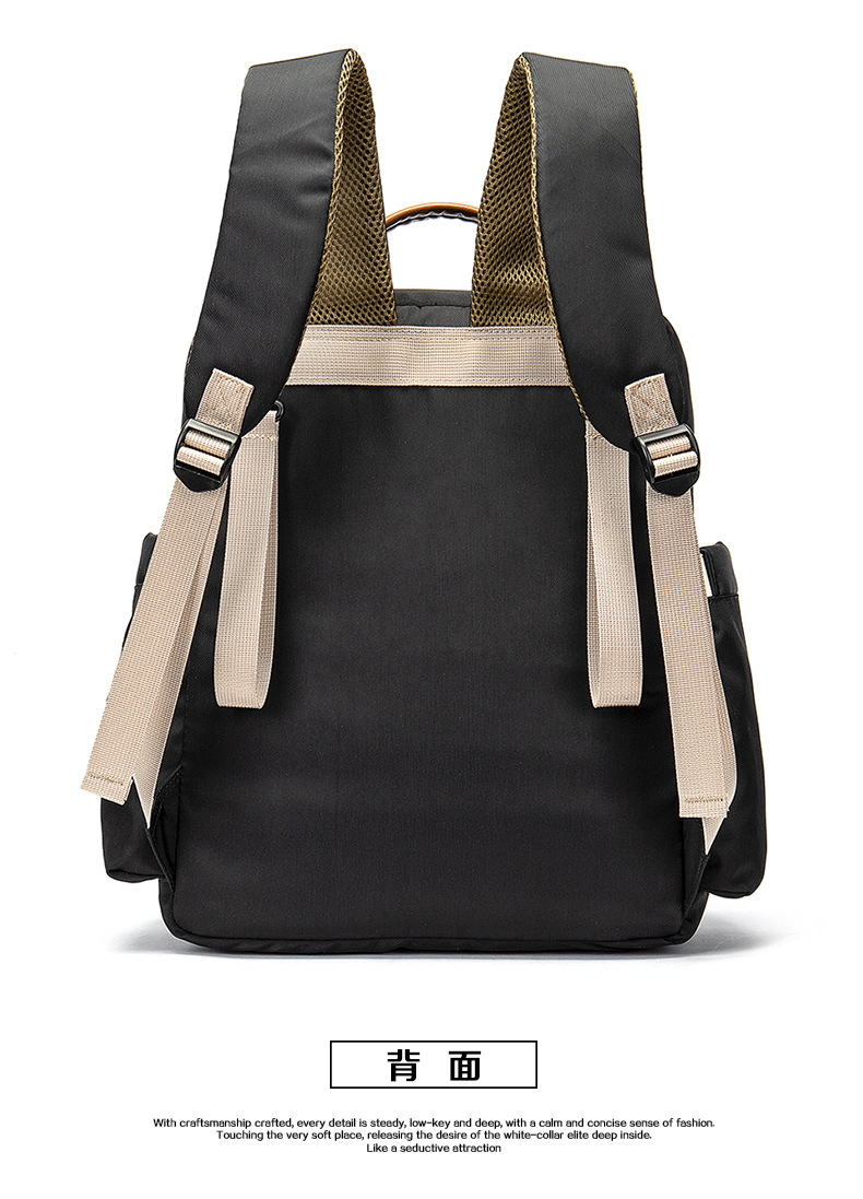 2019 New Baby Diaper Bag Interface Large Capacity Waterproof Nappy Bag Kits Mummy Maternity Travel Backpack Nursing (27)